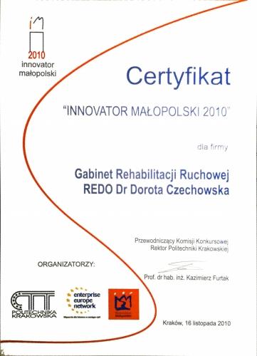 Innowator Malopolski